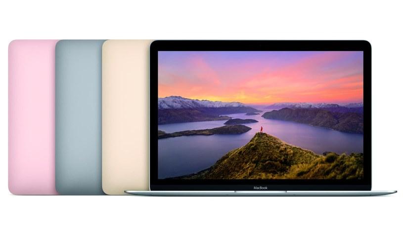 Firma Apple zaktualizowała 12-calowe MacBooki /materiały prasowe