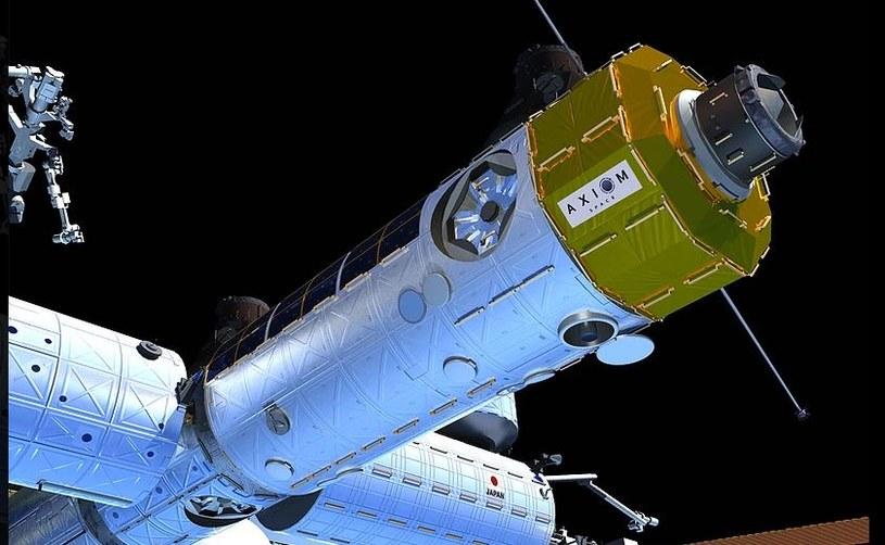 Firma Axiom Space ma bardzo ambitne plany /materiały prasowe