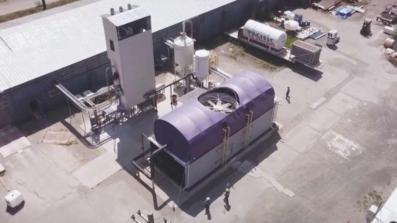 Firma Carbon Engineering ma już instalacje pilotażowe, które testują skuteczność opracowanych procesów /Fot. Carbon Engineering /materiały prasowe