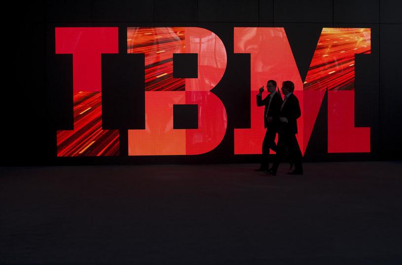 Firma IBM posiada wiele patentów związanych z technologią blockchain /AFP