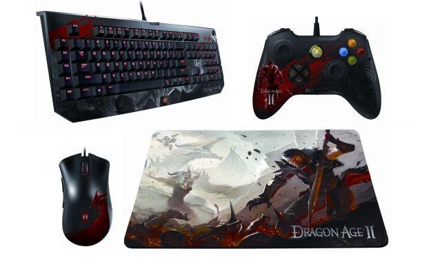 Firmy Razer i Bioware udostępniły licencjonowany sprzęt dla wszystkich fanów serii Dragon Age /Informacja prasowa
