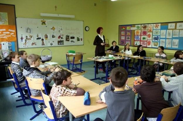 Firmy szukają lojalnych i kompetentnych pracowników już w szkołach. Fot. Jacek Domiński /Reporter