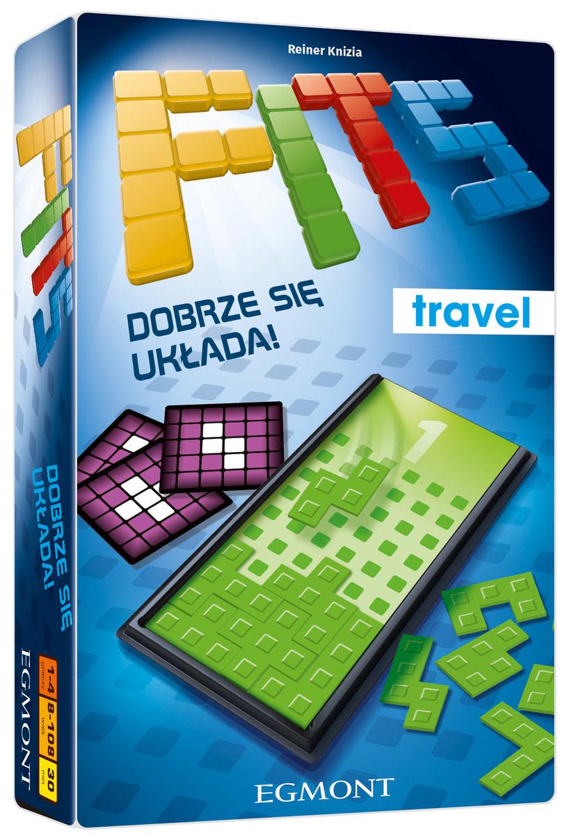 FITS Travel to podróżna wersja bestsellerowej gry FITS /INTERIA.PL/materiały prasowe