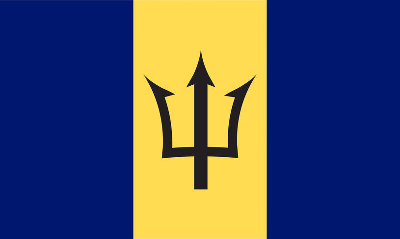 Flaga Barbadosu /123/RF PICSEL