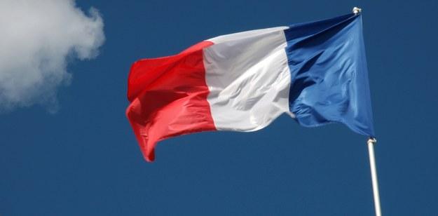 Flaga Francji /Scholz, F. /PAP/DPA