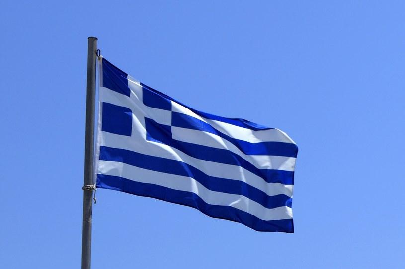 Flaga Grecji /Dave Porter /East News