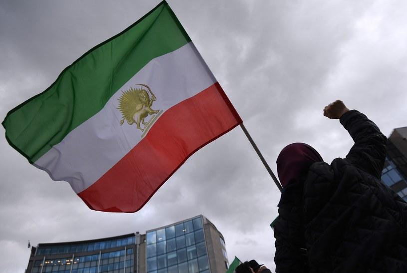 Flaga Iranu. Zdjęcie ilustracyjne /EMMANUEL DUNAND /AFP
