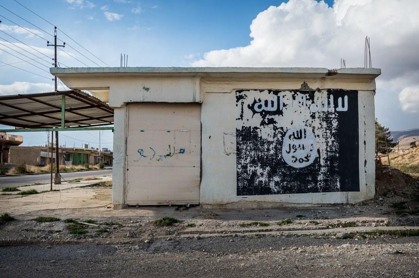 Flaga ISIS, zdj. ilustracyjne /Alessandro Rota/Sipa USA /East News