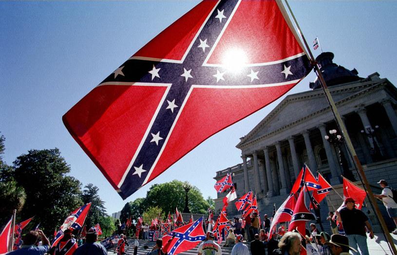 Flaga Konfederacji /East News
