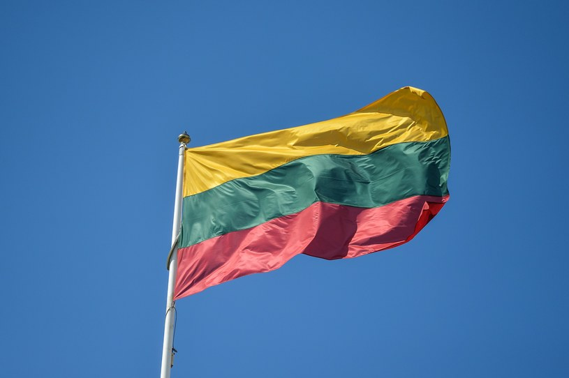 Flaga Litwy, zdj. ilustracyjne /GERARD/REPORTER /Reporter