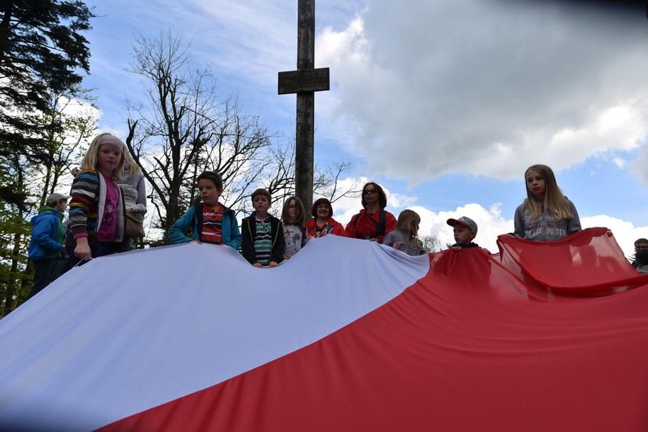 Flaga na Łysicy! /RMF FM