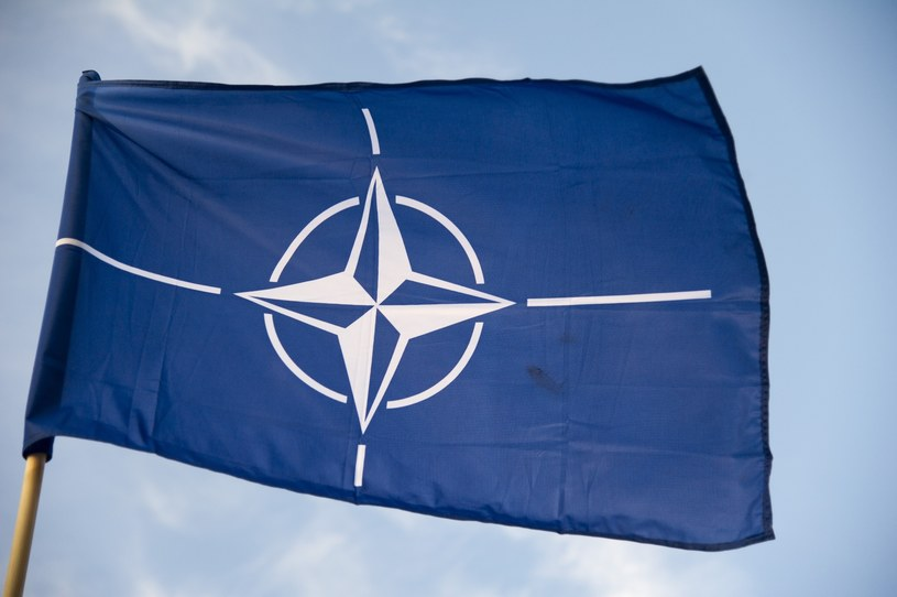 Flaga NATO; Zdj. ilustracyjne /Wojciech Strozyk/ /Reporter