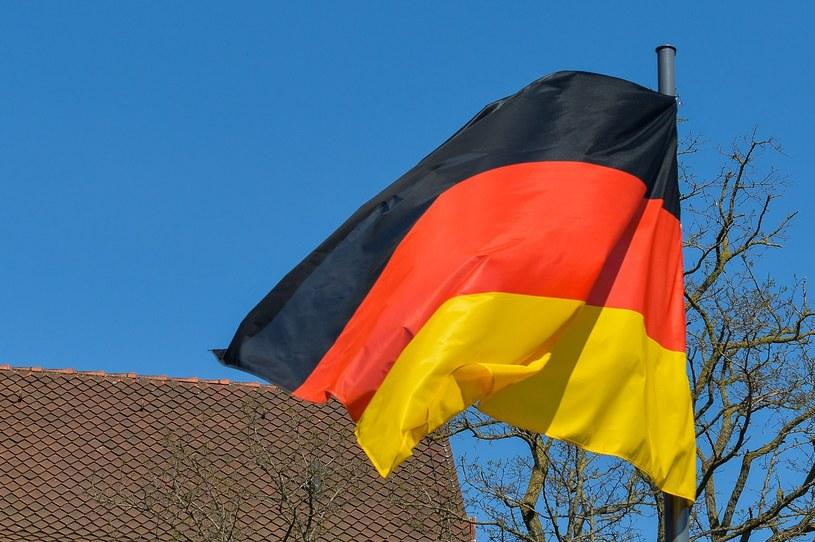 Flaga Niemiec /Gerard /Reporter