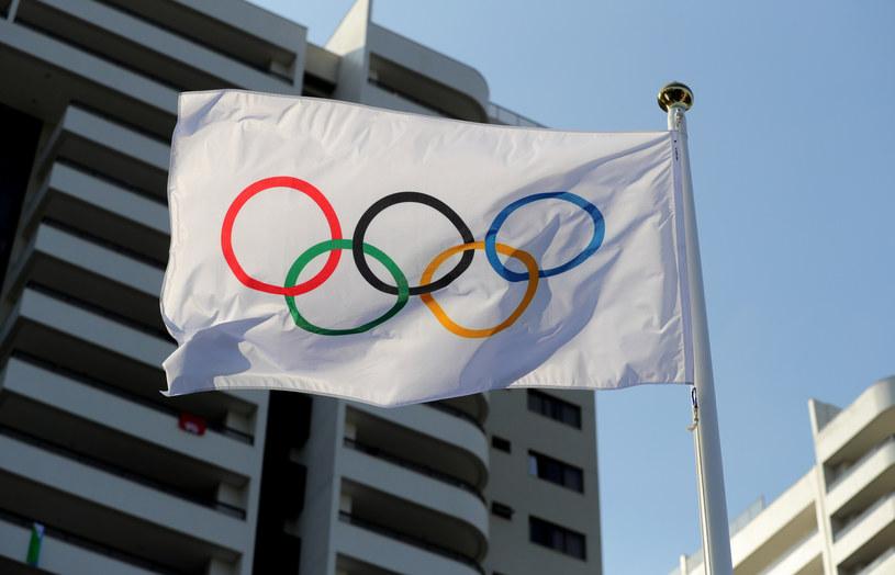 Flaga olimpijska /ANDRZEJ SZKOCKI/POLSKA PRESS /East News