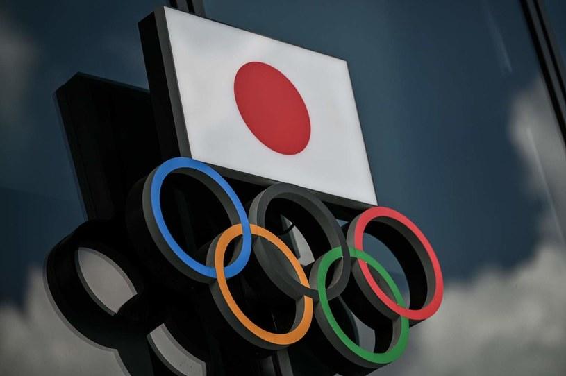 Flaga olimpijska /AFP/AFP CHARLY TRIBALLEAU /AFP
