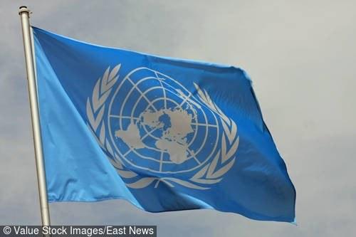 Flaga ONZ; zdj. ilustracyjne /Value Stock Images /East News