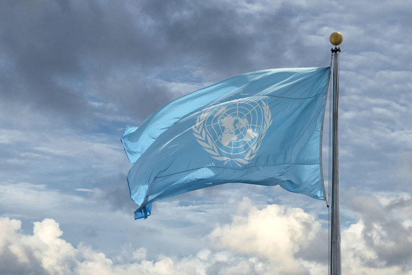 Flaga ONZ, zdj. ilustracyjne /123RF/PICSEL
