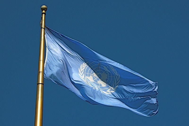 Flaga ONZ (zdjęcie ilustracyjne) /Makaristos /Wikimedia