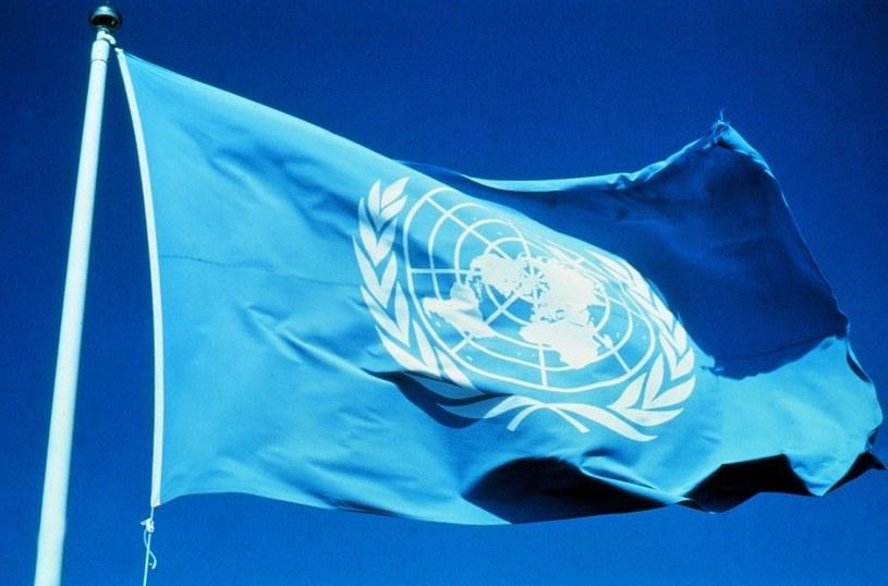 Flaga ONZ /East News
