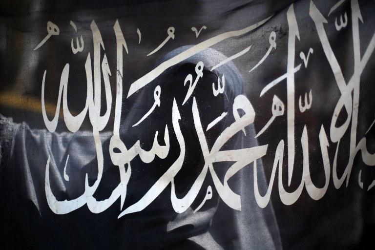 Flaga Państwa Islamskiego, zdj. ilustracyjne /AFP