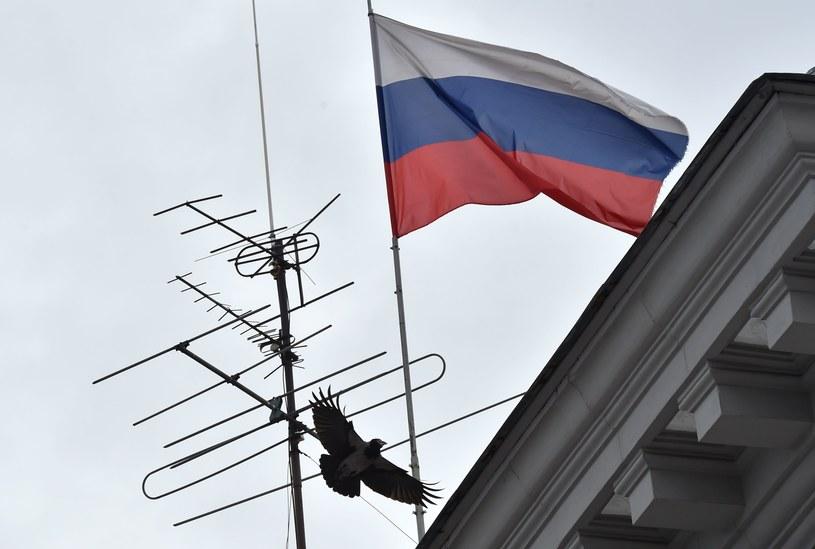 Flaga Rosji /AFP