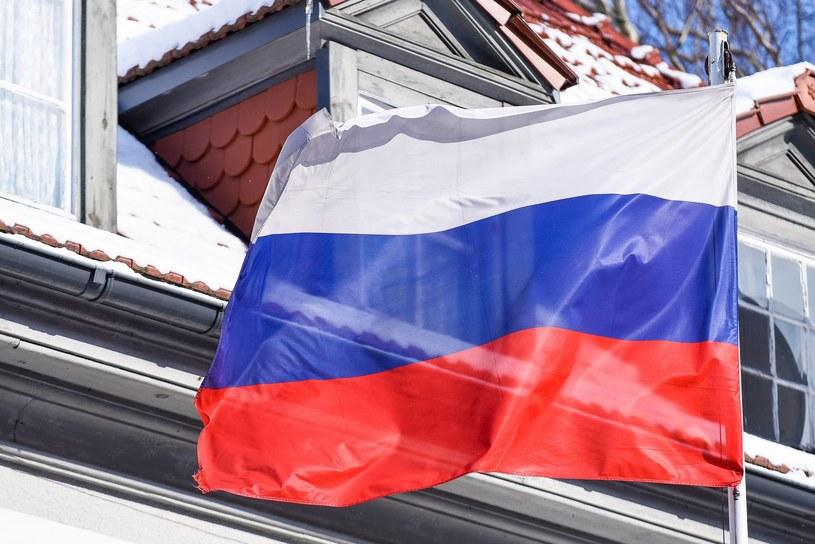 Flaga Rosji /Mateusz Słodkowski /Newspix