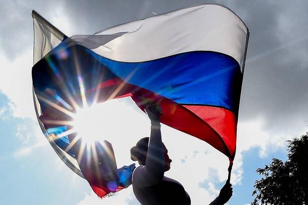 Flaga Rosji /Olga Maltseva /PAP/ITAR-TASS