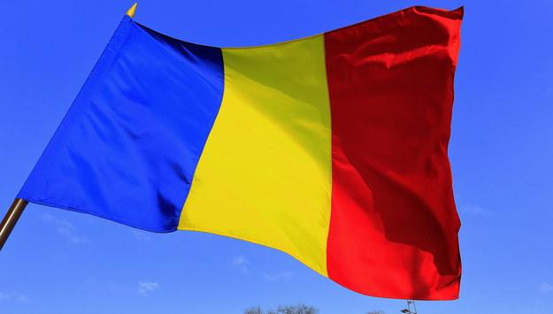 Flaga Rumunii /ROBERT GHEMENT /PAP/EPA