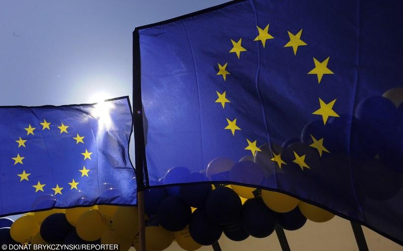 Flaga UE, zdj. ilustracyjne /Brykczyński/REPORTER /East News