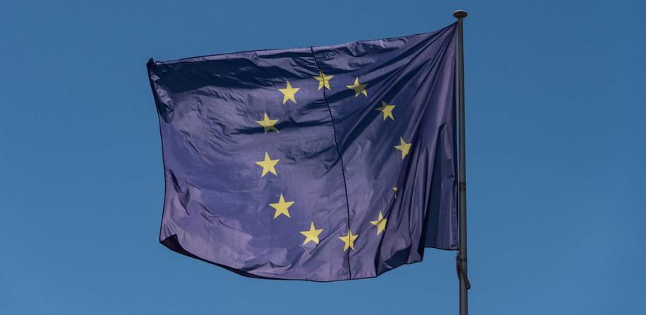 Flaga UE /Patrick Seeger  /PAP/EPA