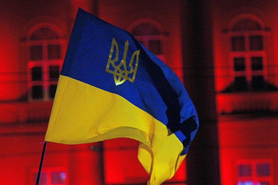 Flaga Ukrainy /Siryk Anatolii /PAP/Photoshot