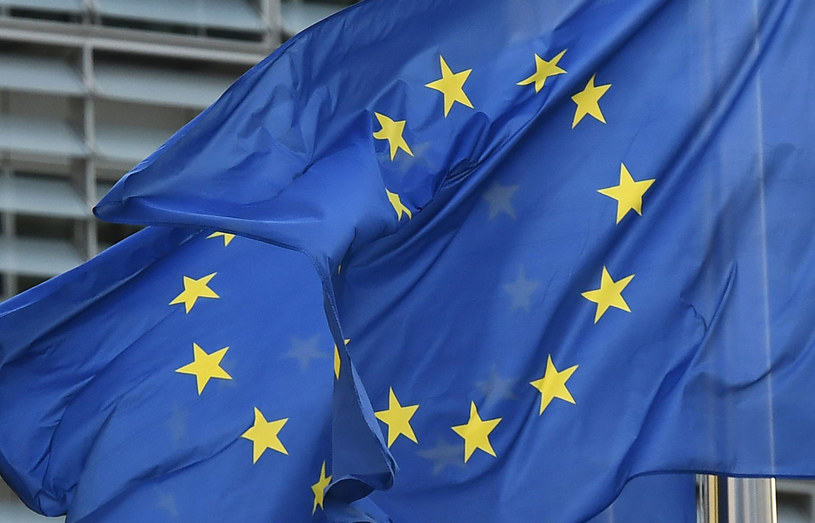 Flaga Unii Europejskiej /EMMANUEL DUNAND /AFP