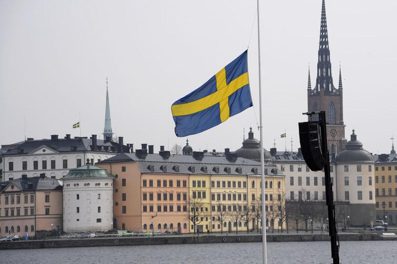Flagi Szwecji /AFP