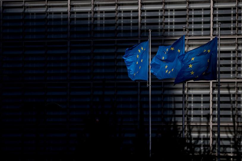 Flagi UE, zdjęcie ilustracyjne /KENZO TRIBOUILLARD / AFP /AFP