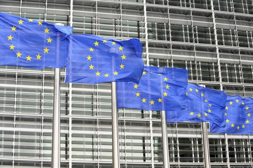 Flagi UE /imago stock&people /East News