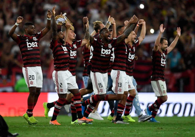 Flamengo po awansie do finału Copa Libertadores /AFP