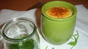 Flan czyli czosnkowy budyń i sos z rukoli