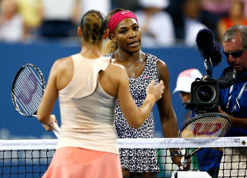 Flavia Pennetta i Serena Williams /AFP