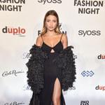 Flesh Fashion Night: Julia Wieniawa skradła show suknią z gigantycznym rozcięciem!