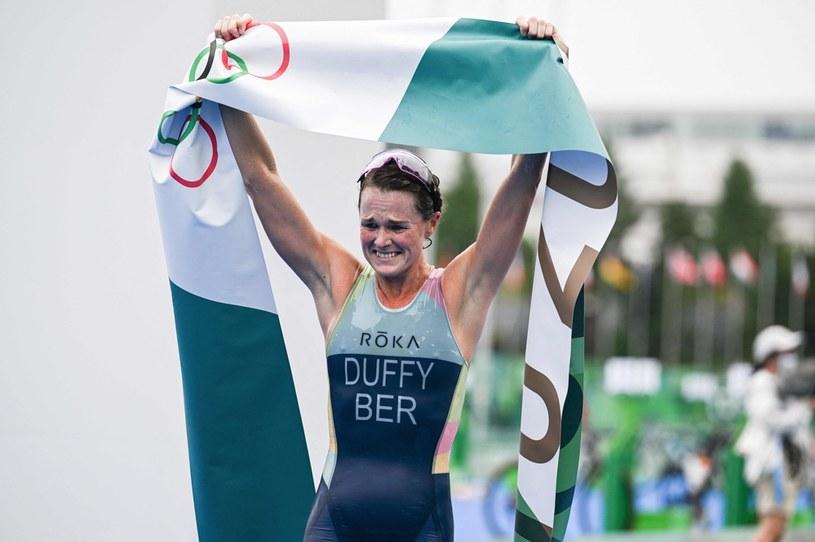 Flora Duffy triumfuje na igrzyskach w Tokio /AFP