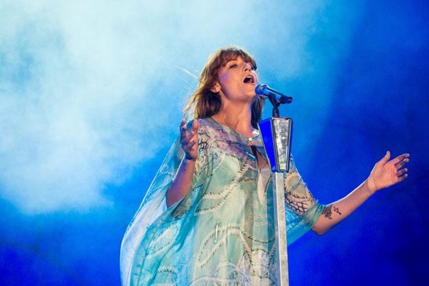 Florence And The Machine może liczyć na gorące przyjęcie (fot. Buda Mendes) /Getty Images/Flash Press Media