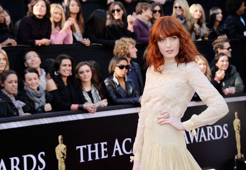 Florence Welch na czerwonym dywanie w 2011 roku /Kevork Djansezian /Getty Images