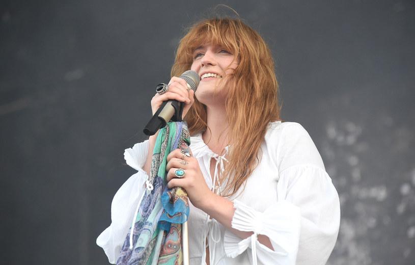 Florence Welch podczas koncertu /Jason Merritt /Getty Images
