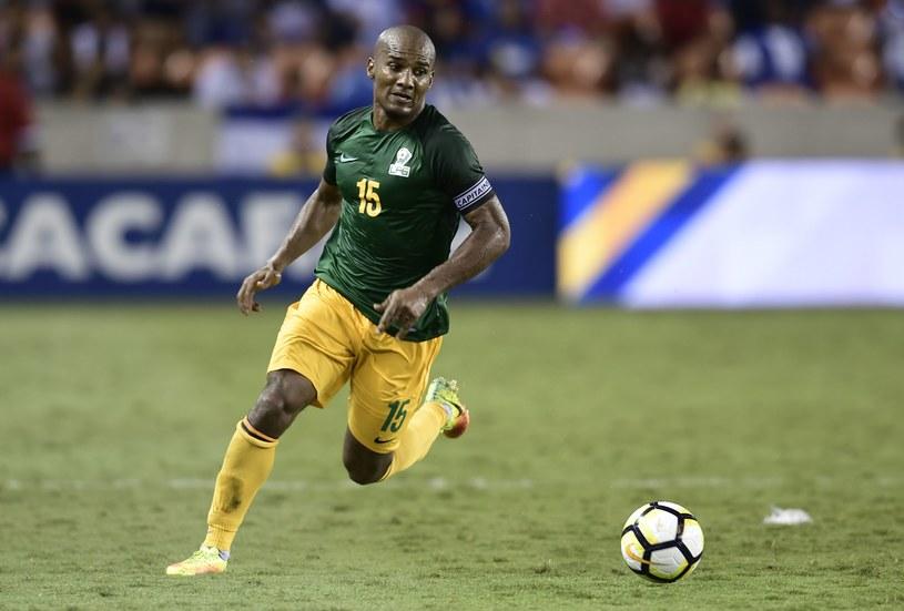 Florent Malouda w barwach Gujany Francuskiej /AFP