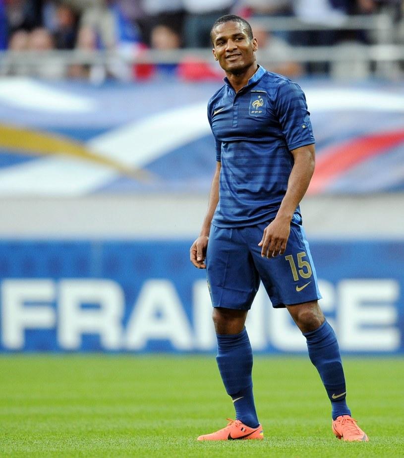 Florent Malouda w barwach reprezentacji Francji /FRANCK FIFE /East News