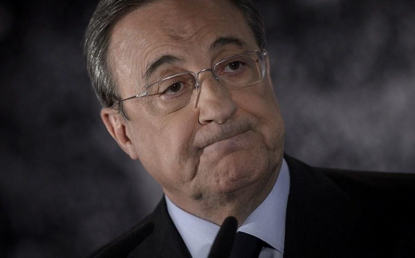 Florentino Perez, prezydent Realu Madryt /AFP