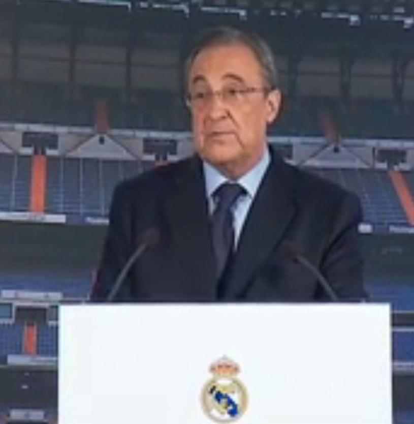 Florentino Perez właśnie ogłosił zwolnienie Carla Ancelottiego. /INTERIA.PL