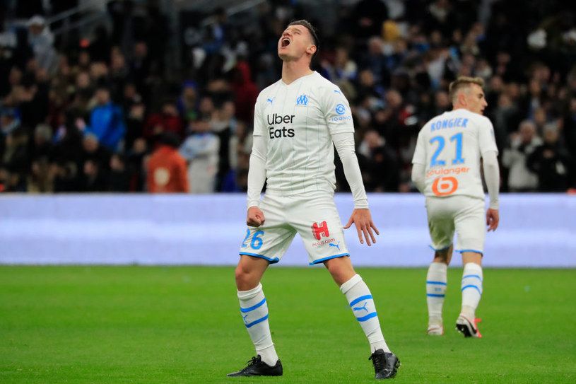 Florian Thauvin z Olympique Marsylia /Getty Images