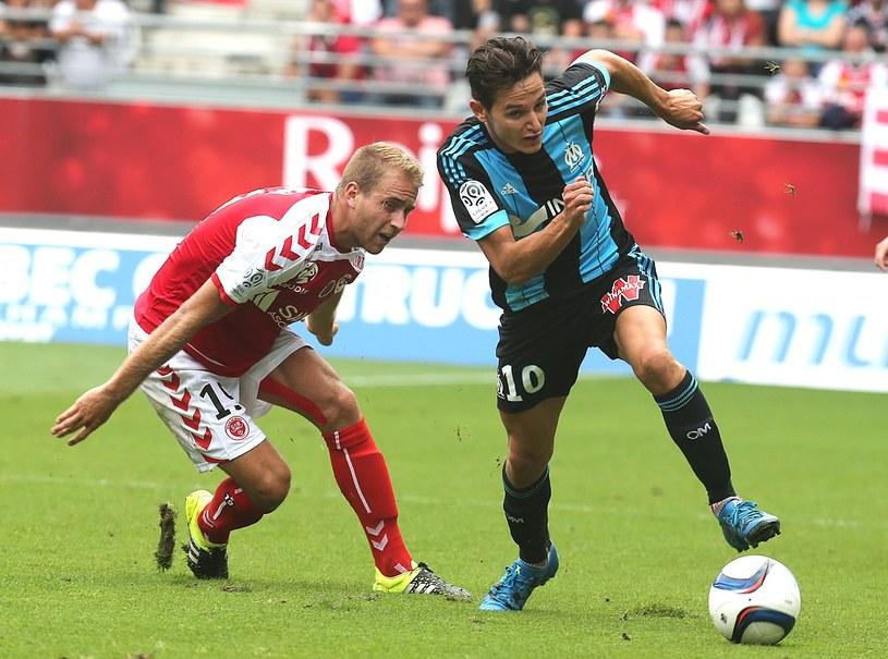 Florian Thauvin (z prawej) tu jeszcze w koszulce Olympique Marsylia /AFP