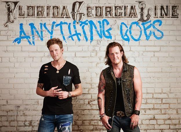"Florida Georgia Line na okładce ""Anything Goes"" /"
